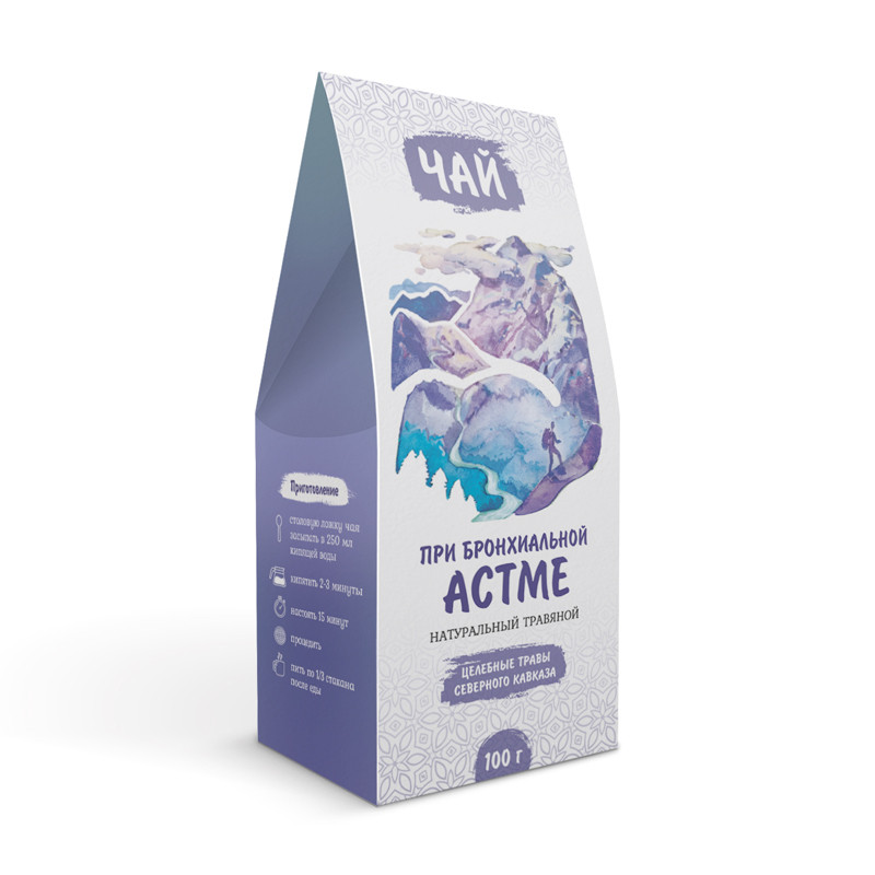 При бронхиальной астме (травяной чай)