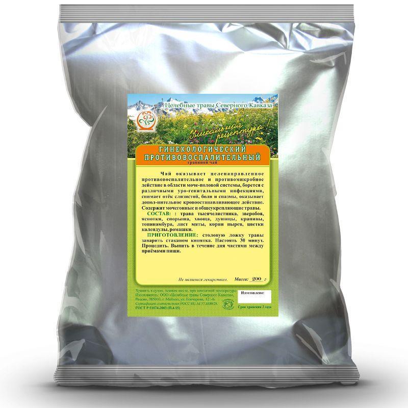 Гинекологический противовоспалительный (травяной чай)
