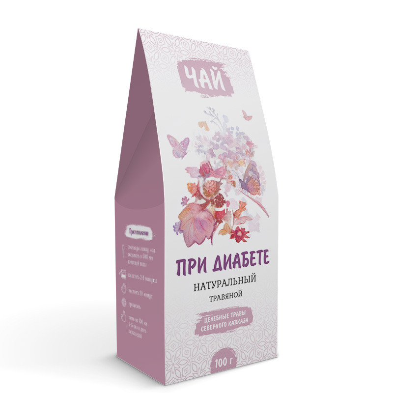 При диабете (травяной чай)
