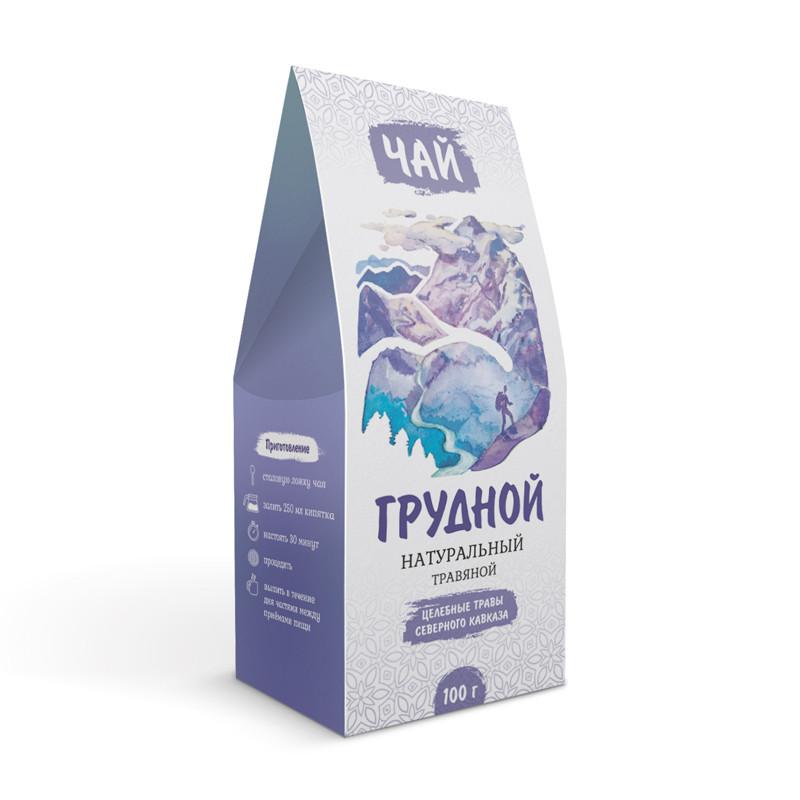 Грудной (при кашле,бронхите, воспалении лёгких) (травяной чай)