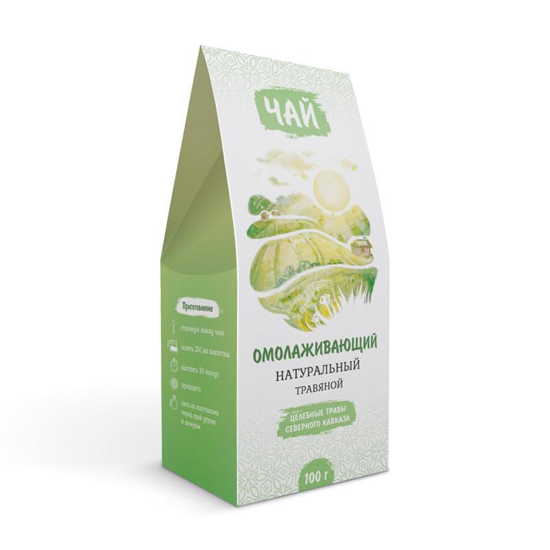 Омолаживающий (по Драгунову) (травяной чай)