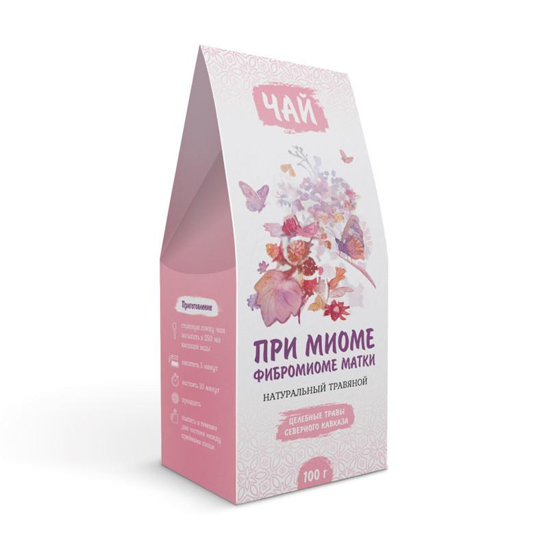 При миоме, фибромиоме матки (травяной чай)