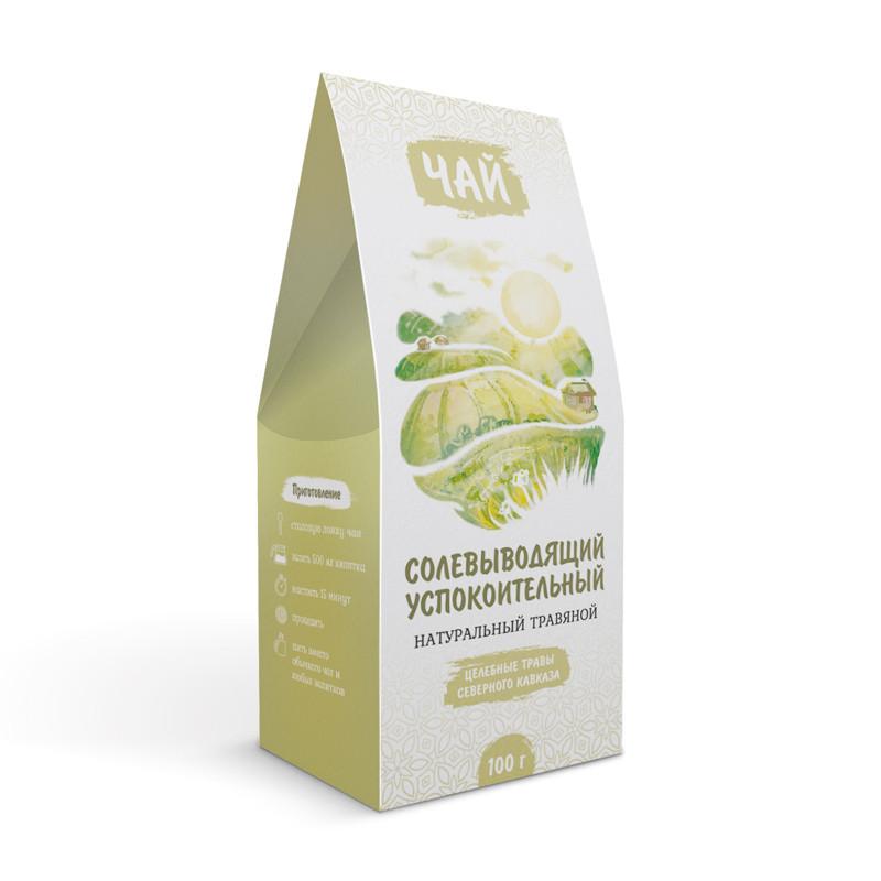 Успокоительный и солевыводящий (травяной чай)
