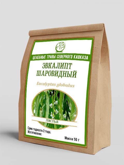 Эвкалипт шаровидный (листья) 50 г