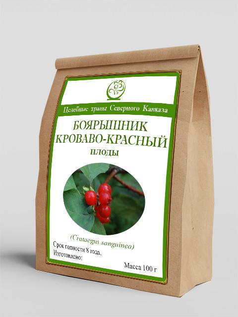Боярышник кроваво-красный (плоды) 100 г