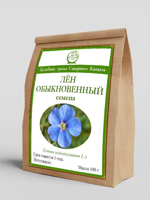 Лён обыкновенный (семена) 100 г