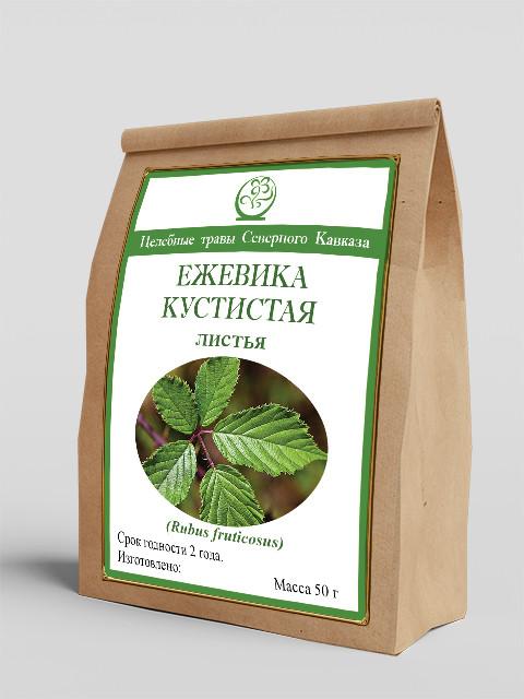Ежевика кустистая (листья) 50 г