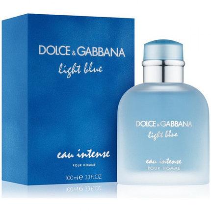 Light Blue Eau Intense Pour Homme Dolce&Gabbana для мужчин 100ml, фото 2