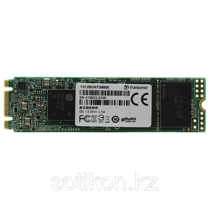 Жесткий диск SSD 128GB Transcend TS128GMTS830S M2