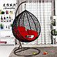 Кресло гнездо, подвесные качели для сада средняя, фото 4