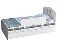 Подростковая кровать Polini kids Монстрики 180 х 90 см с ящиком