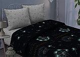 Постельное бельё Дуновение, р-р 2,0 сп. Евро простынь (светится в темноте), фото 2