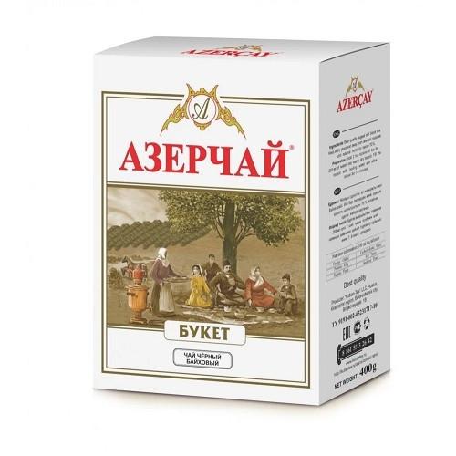Чай черный Букет Азерчай, картон, 400 гр.