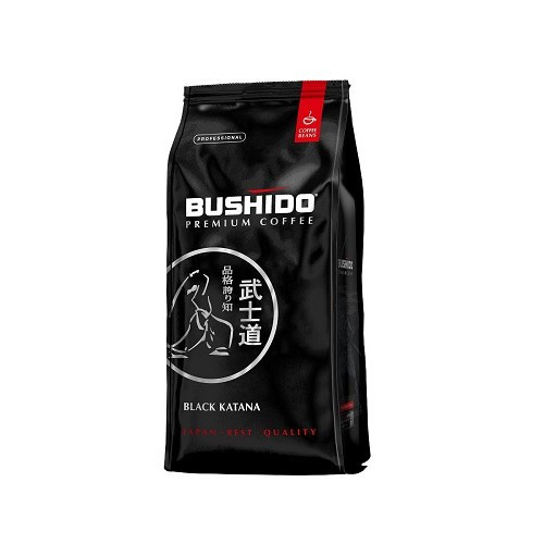Кофе в зернах Bushido Black Katana, 1000 гр.