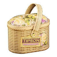 Зеленый чай Tipson Лукошко, цветочное, 80 гр.