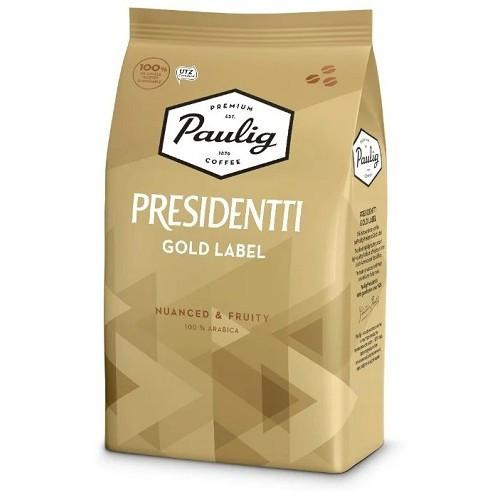 Кофе в зернах Paulig Presidentti Gold, 1000 гр.