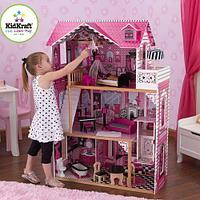 Кукольный домик с мебелью для Барби Kidkraft Амелия 65093