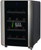 Отдельностоящий винный шкаф до 12 бутылок Ecotronic WCM-12TE