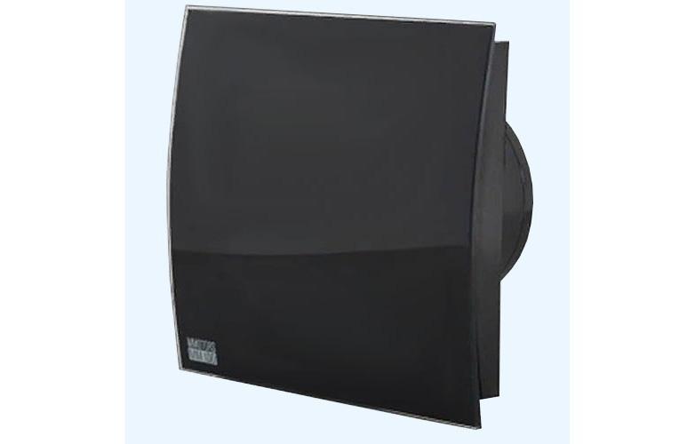 Вытяжка для ванной диаметр 100 мм Mmotors ММ-Р 06 UE стекло овал 100 м3/ч 5,5 Вт обратный клапан/черный
