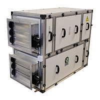 Приточно-вытяжная вентиляционная установка MIRAVENT ПВВУ BRAVO EC 1350 E (с электрическим калорифером)