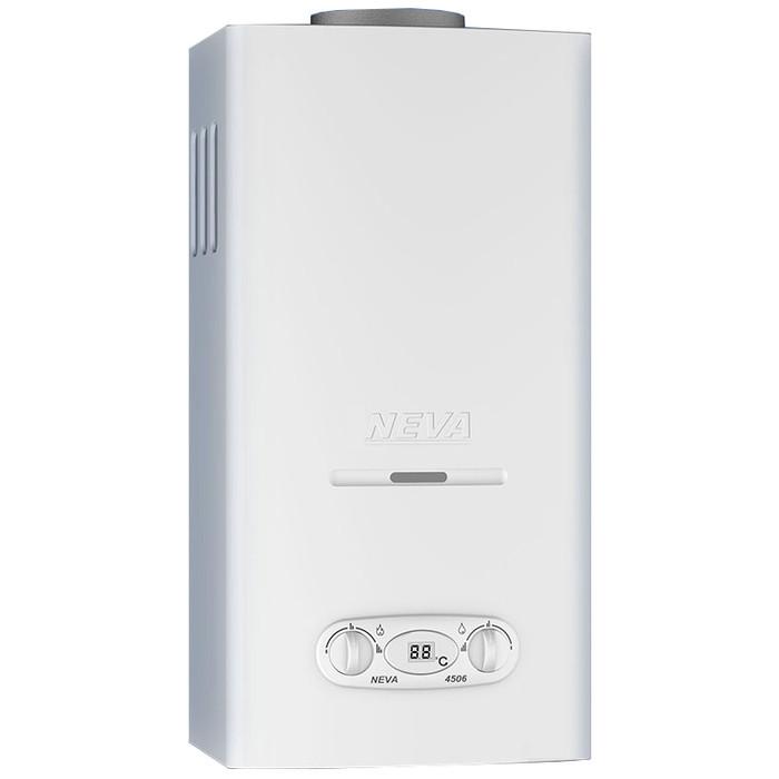 Газовый проточный водонагреватель BaltGaz NEVA 4506 (сж)
