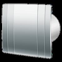 Вытяжка для ванной диаметр 125 мм Blauberg Quatro Hi-Tech Chrome 125