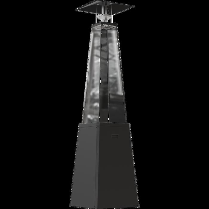 Газовый уличный обогреватель мощностью 11-12 кВт Kratki UMBRELLA/BS/C/G31/37MBAR/S - без стоек (черный)