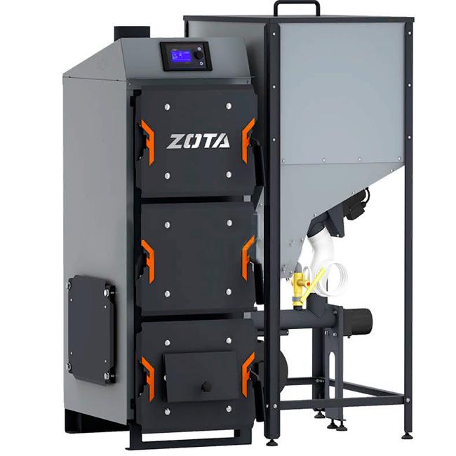 Твердотопливный котел Zota Focus 12