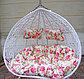 Подвесная качеля гнездо двухместная, фото 7