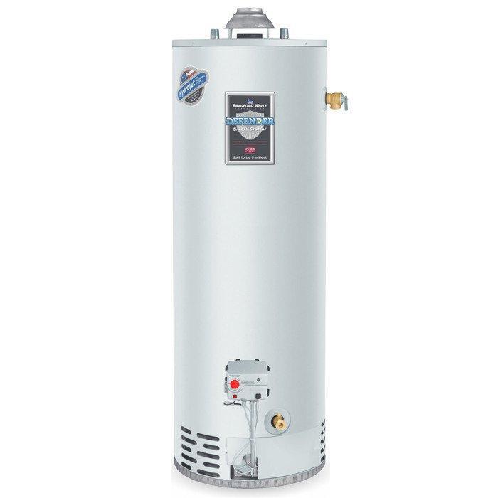 Газовый накопительный водонагреватель Bradford White RG250L6N