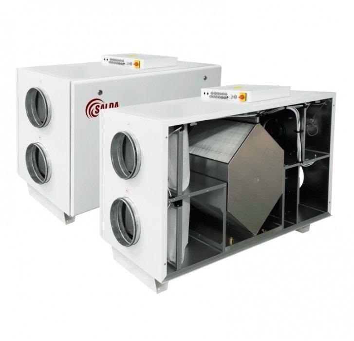 Приточно-вытяжная вентиляционная установка Salda RIS 1900 HW EKO 3.0