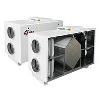 Приточно-вытяжная вентиляционная система с рекуперацией Salda RIS 2200 HW EKO 3.0