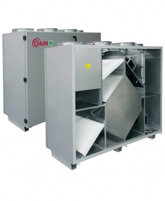 Приточно-вытяжная вентиляционная установка Salda RIS 1900 VER EKO 3.0