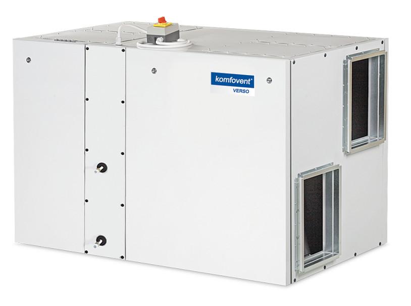 Приточно-вытяжная вентиляционная установка Komfovent Verso-R-1700-UV-CW или DX (L/AZ)