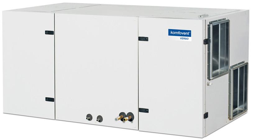 Приточно-вытяжная вентиляционная установка Komfovent Verso-CF-2300-UV-CW или DX