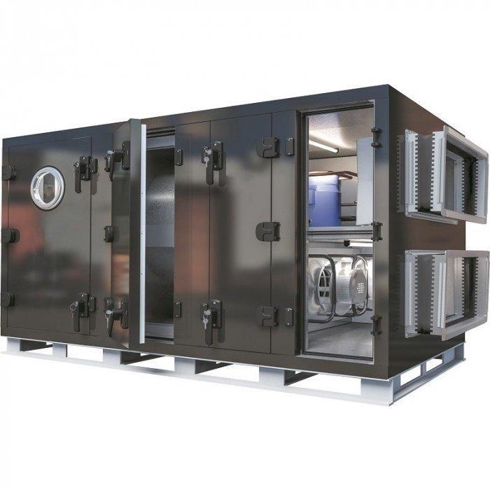 Приточная вентиляционная установка с водяным подогревом воздуха GlobalClimat Nemero 03 RR.1-HW 2000