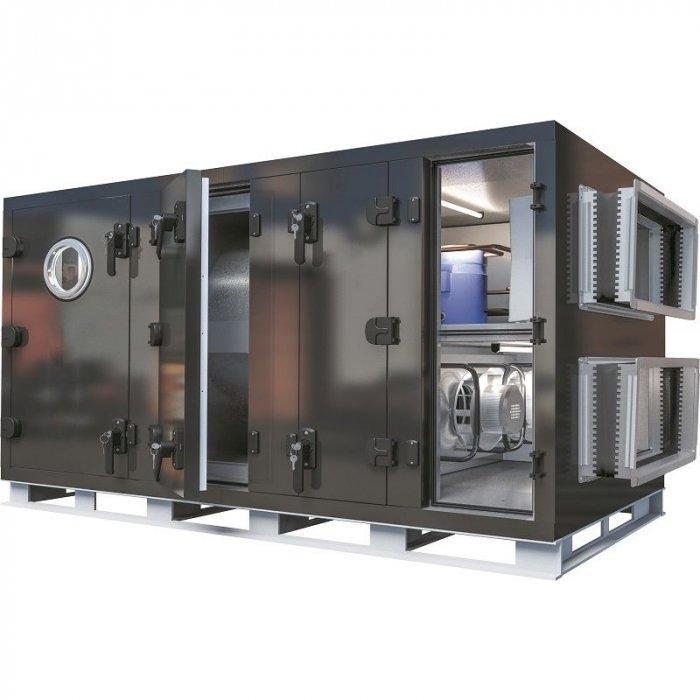 Промышленная вентиляционная установка с рекуперацией GlobalClimat Nemero 03 RR.1-HW-CW 2000
