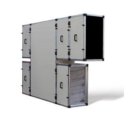 Приточно-вытяжная установка с рекуперацией тепла и влаги Turkov CrioVent 2000 SE