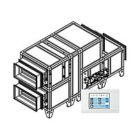 Приточно-вытяжная вентиляционная установка Breezart 2000 Aqua Cool