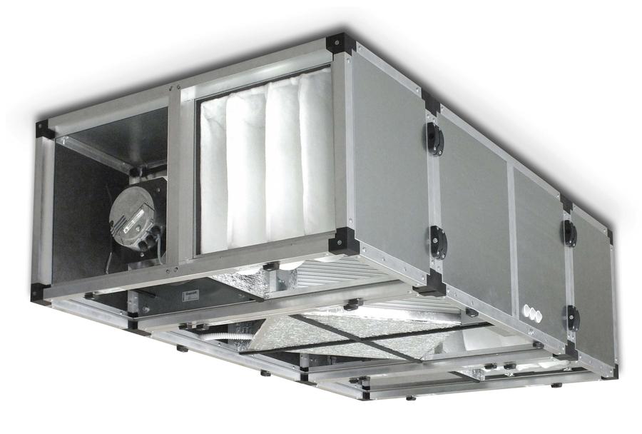 Приточно-вытяжная вентиляционная установка Эльф ЭКО 2000 EC без автоматики