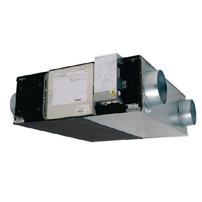 Приточно-вытяжная вентиляционная установка Mitsubishi Electric LGH-200RVX-E