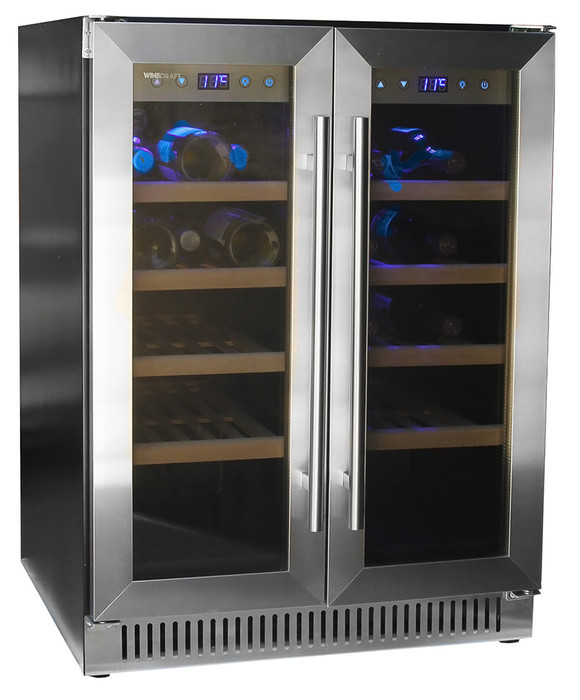 Встраиваемый винный шкаф 22-50 бутылок Wine Craft SC-30BZ2 Grand Cru (под столешницу)