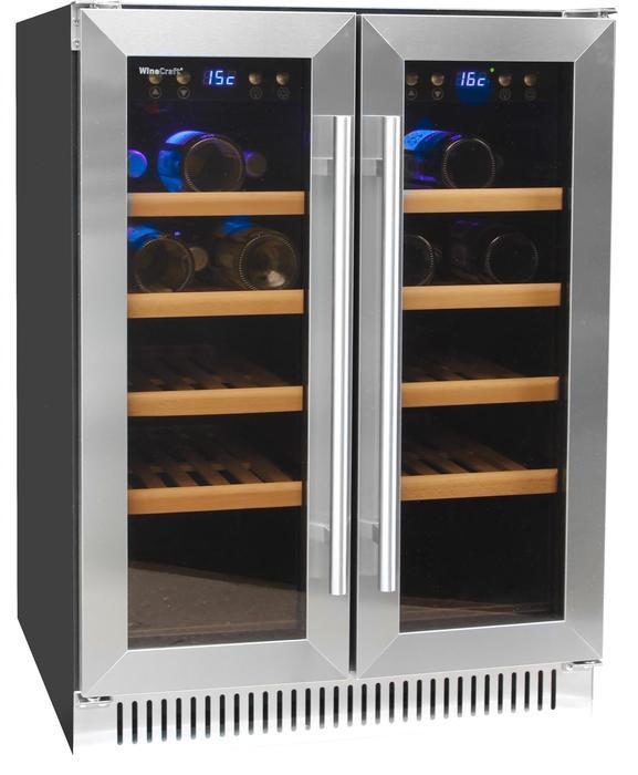 Встраиваемый винный шкаф 22-50 бутылок Wine Craft SC-40BZ2 Grand Cru (под столешницу)