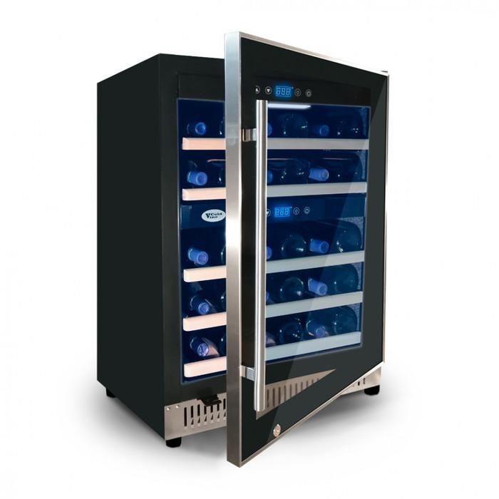 Встраиваемый винный шкаф 22-50 бутылок Cold Vine C40-KBT2