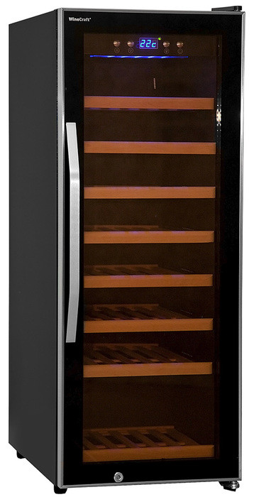 Отдельностоящий винный шкаф 22-50 бутылок Wine Craft BC-43M Grand Cru