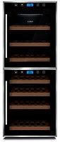 Отдельностоящий винный шкаф 22-50 бутылок CASO WineComfort Touch 38-2D