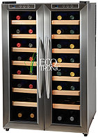 Отдельностоящий винный шкаф 22-50 бутылок Ecotronic WCM-32DE