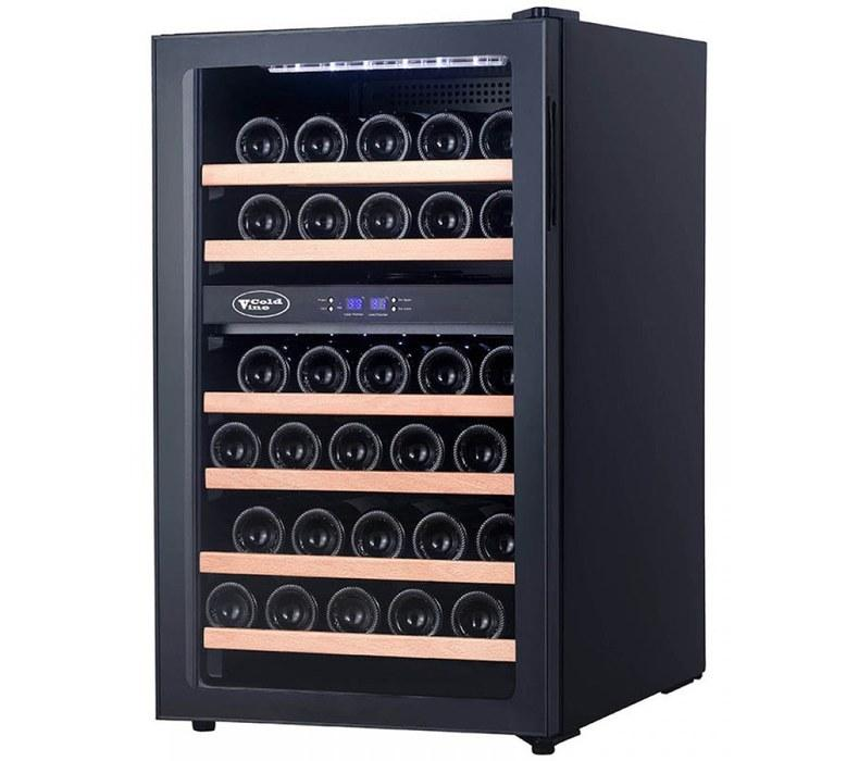 Отдельностоящий винный шкаф 22-50 бутылок Cold Vine C34-KBF2
