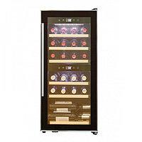 Отдельностоящий винный шкаф 22-50 бутылок Cold Vine C24-KBF2