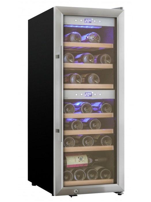 Отдельностоящий винный шкаф 22-50 бутылок Cold Vine C38-KSF2